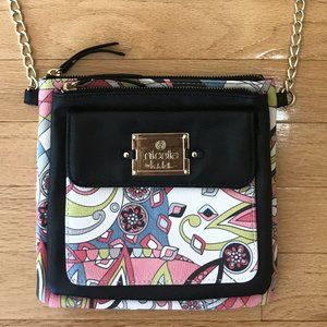 Nicole by Nicole Miller Small Floral Crossbody